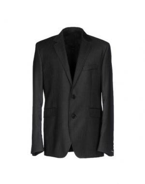 Пиджак BIKKEMBERGS. Цвет: стальной серый