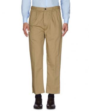 Повседневные брюки COVERT. Цвет: хаки