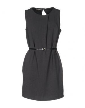 Короткое платье SOUVENIR. Цвет: свинцово-серый