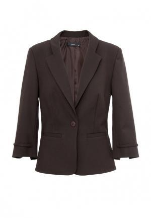 Пиджак Emka. Цвет: коричневый