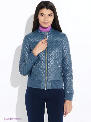 Куртка Oodji. Цвет: морская волна