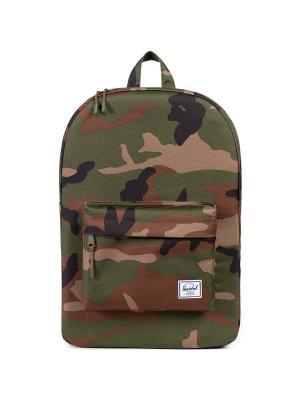 Рюкзак CLASSIC (A/S) Herschel. Цвет: темно-коричневый,хаки