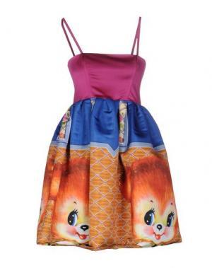 Короткое платье LEITMOTIV. Цвет: пурпурный