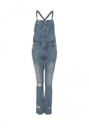 Комбинезон джинсовый Urban Bliss. Цвет: синий