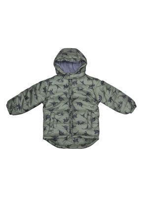 Куртка FOX. Цвет: серо-зеленый