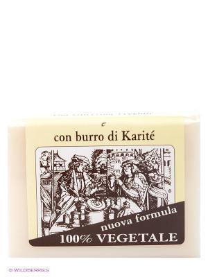 Натуральное глицериновое мыло с  маслом Ши, 150 гр Iteritalia. Цвет: белый
