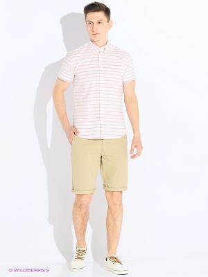 Сорочка Wrangler. Цвет: белый, красный