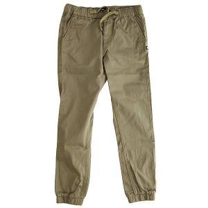 Штаны прямые детские DC Greystoke Boy Dusky Green Shoes. Цвет: зеленый