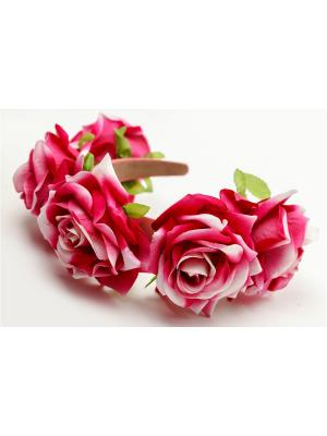 Ободок Oceania. Цвет: розовый