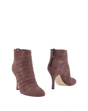 Полусапоги и высокие ботинки MINA BUENOS AIRES. Цвет: розовато-лиловый