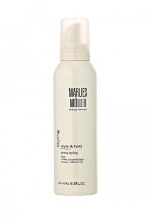 Пена для укладки Marlies Moller. Цвет: белый