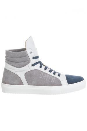SNEAKERS Datch. Цвет: blue, grey