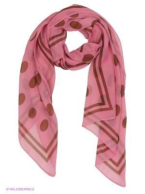 Платок Shapkoff. Цвет: розовый, коричневый