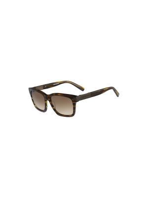 Солнцезащитные очки KL 863S 042 Karl Lagerfeld. Цвет: зеленый