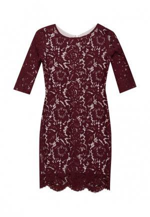 Платье DanMaralex. Цвет: бордовый