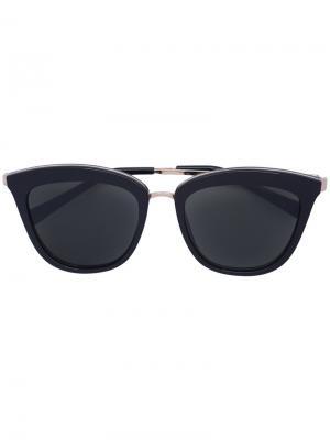 Солнцезащитные очки кошачий глаз Le Specs. Цвет: чёрный
