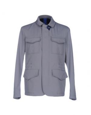 Куртка GEOSPIRIT. Цвет: серый