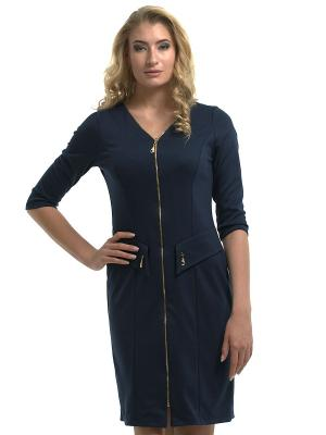 Платье Dea Fiori. Цвет: темно-синий
