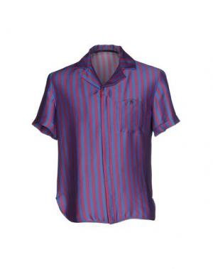 Pубашка GAETANO NAVARRA. Цвет: пурпурный