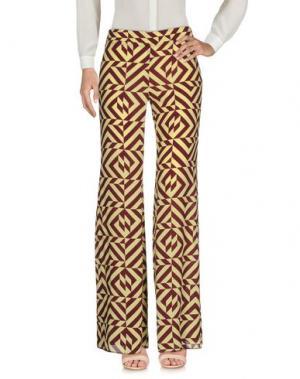 Повседневные брюки FLIVE. Цвет: желтый