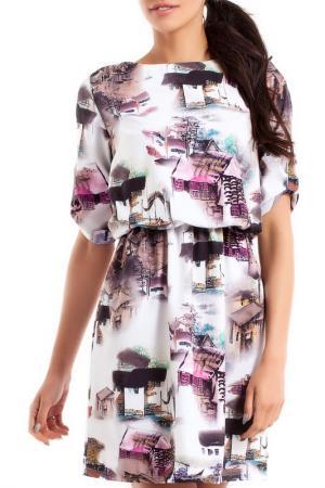 Платье Moe. Цвет: мультицвет