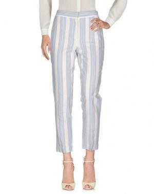 Повседневные брюки GOTHA. Цвет: небесно-голубой