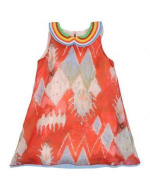 Платье MIMISOL. Цвет: красный