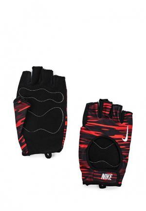Перчатки для фитнеса Nike. Цвет: красный