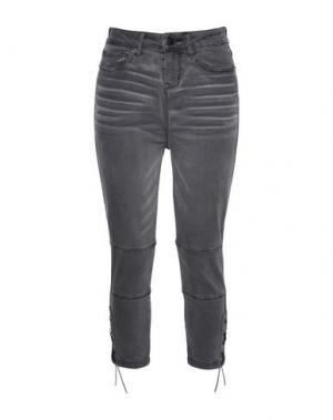 Джинсовые брюки JOLIE by EDWARD SPIERS. Цвет: черный