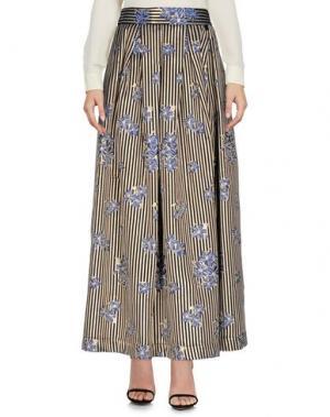 Длинная юбка NAUGHTY DOG. Цвет: платиновый