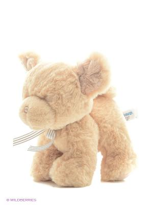 Игрушка мягкая (Oh So Soft Puppy Tan Rattle, 18 см). Gund. Цвет: бежевый