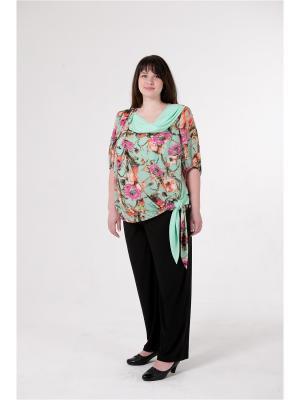 Блузка женская БаяНа. Цвет: зеленый