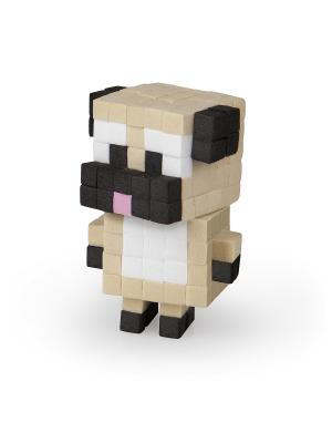 The ORB Factory. Pixel Pops Игрушка Щенок factory. Цвет: коричневый, белый, черный