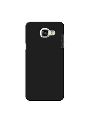 Чехол Air Case и защитная пленка для Samsung Galaxy A5(2016), черный, Deppa(83228) Deppa. Цвет: черный
