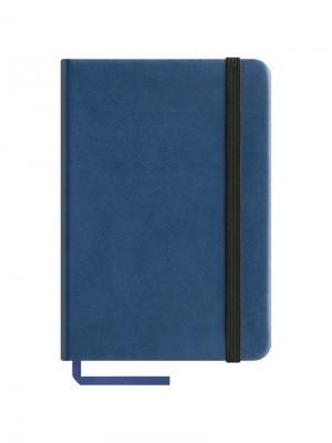 Записная книжка  Classic Velvet на резинке Office space. Цвет: синий