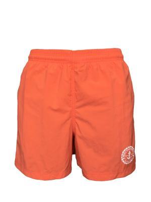 Шорты Jolidon. Цвет: оранжевый