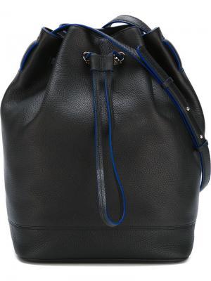 Большая сумка-мешок Fay. Цвет: чёрный