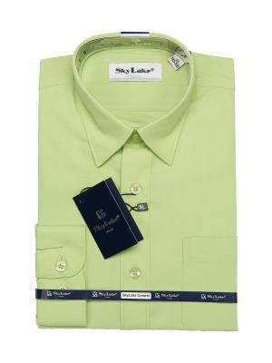 Рубашка Sky Lake. Цвет: салатовый