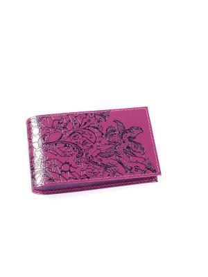 Визитница карманная BEFLER. Цвет: фиолетовый