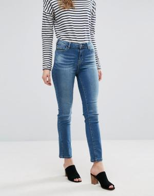 Waven Прямые джинсы Mari. Цвет: синий