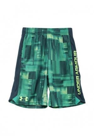 Шорты спортивные Under Armour. Цвет: зеленый