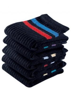 Спортивные носки, 12 пар GO IN. Цвет: белый в полоску, серый в полоску, черный в полоску