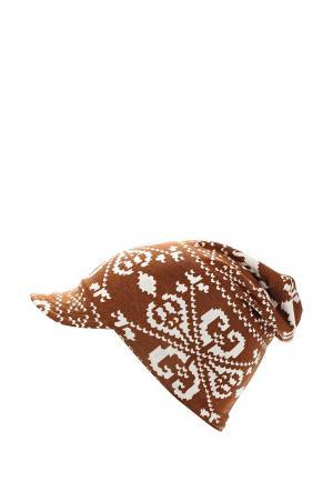 Шапка Sahera Rahmani. Цвет: коричневый