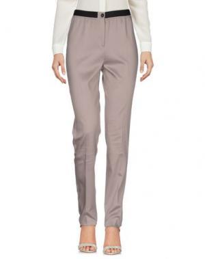 Повседневные брюки METRADAMO. Цвет: голубиный серый