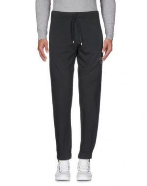 Повседневные брюки CONVERSE ALL STAR. Цвет: свинцово-серый
