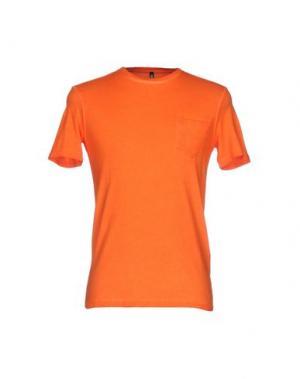 Футболка DONDUP. Цвет: оранжевый