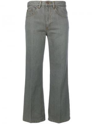 Укороченные джинсы Marc Jacobs. Цвет: серый