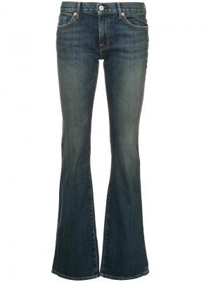 Эластичные расклешенные джинсы Alek Japanese Nili Lotan. Цвет: синий