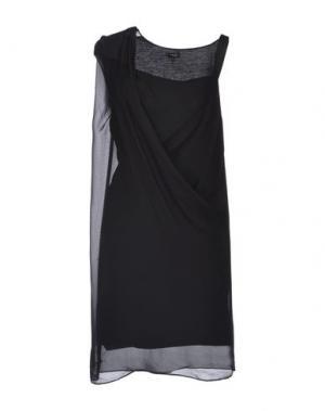 Платье до колена NUE 19.04. Цвет: черный