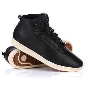 Кеды кроссовки высокие  Leland Lx Black/Tan Es. Цвет: черный